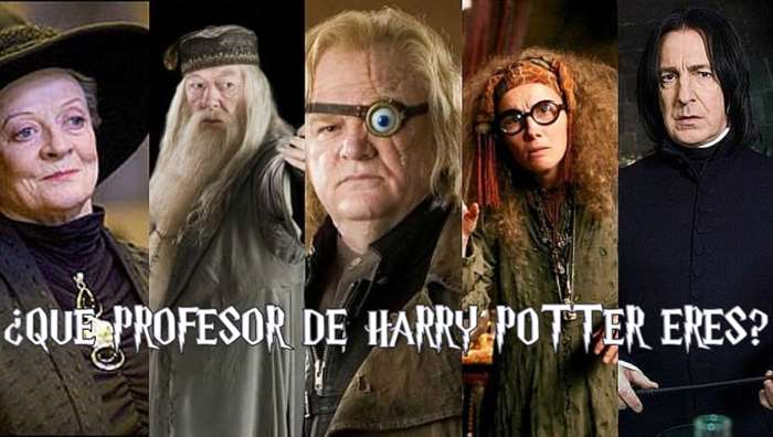 que profesor de harry potter eres
